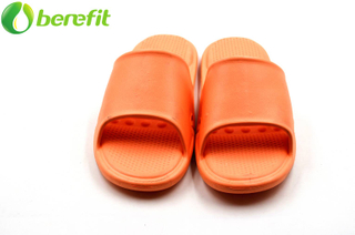 Pantuflas Orange EVA Lady Indoor Summer Slides con soporte de arco